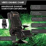 X Rocker Pro Series 2.1 Vibrating Black Leather