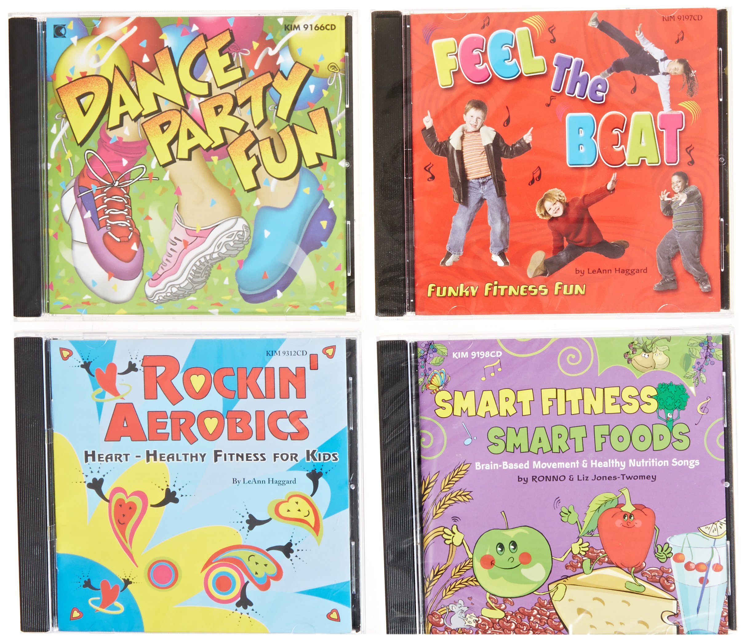 Childcraft Movement CDs (Set of 4)