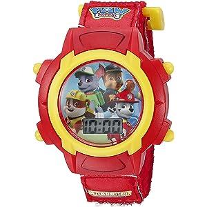 Nickelodeon Kids PAW5003 Digital Display Quartz Red Watch