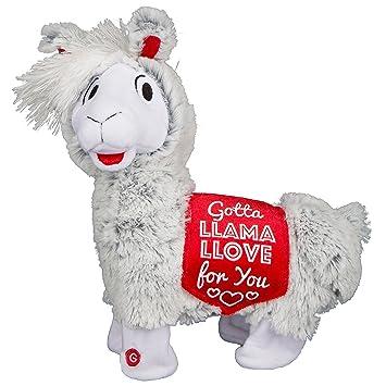 12 Plush Twerking Llama Valentines Day