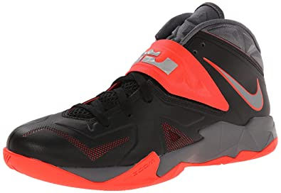 lebron james red and black shoes