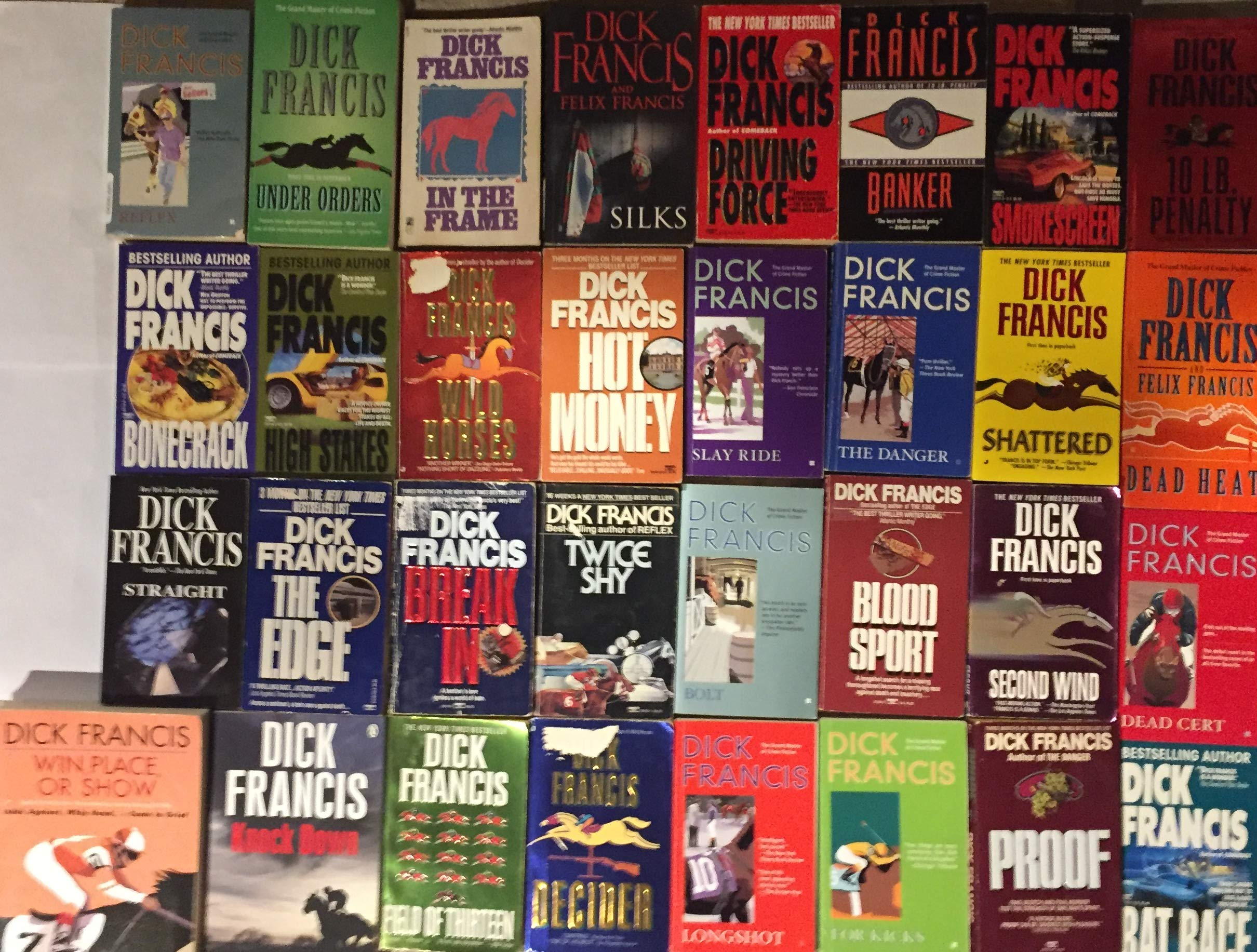Image result for Dick Francis Books