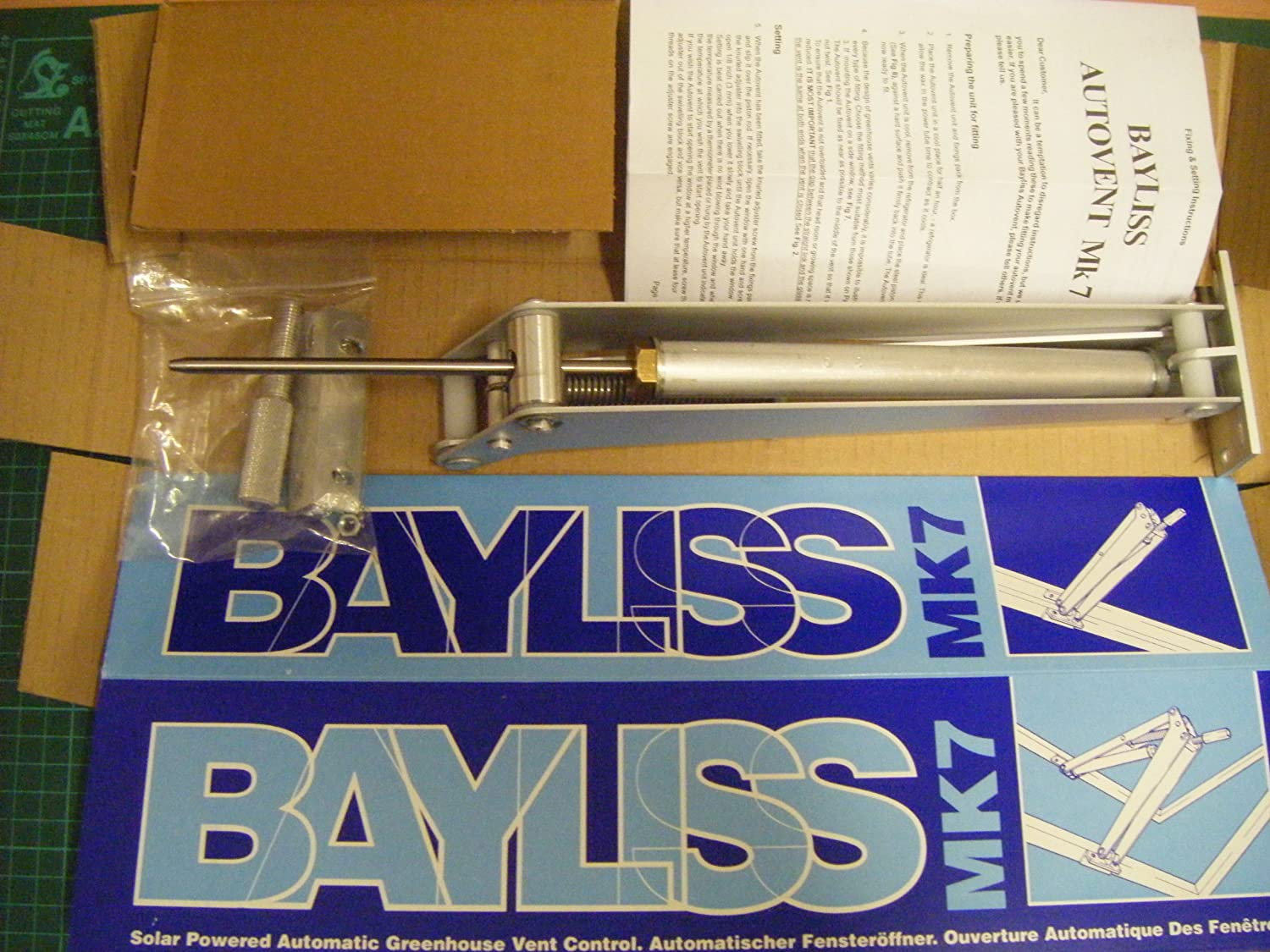 Bayliss Mk.7 Orchid Wax Variant (high temperature opening version)