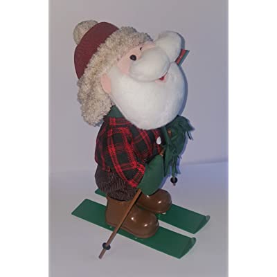 Department 56 Santa Skier Rockin' Rollers: Home & Kitchen