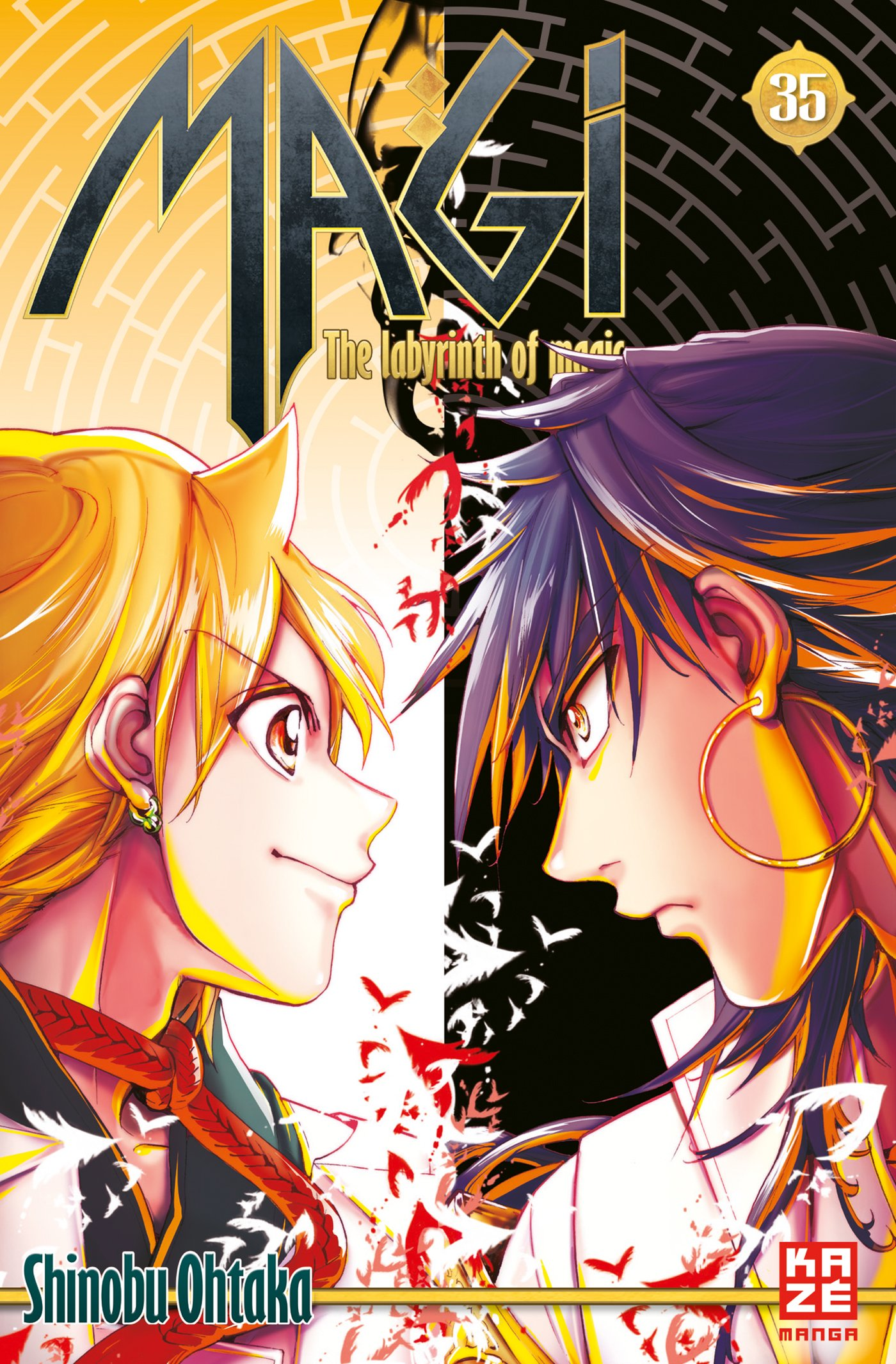 Magi 35: The Labyrinth of Magic