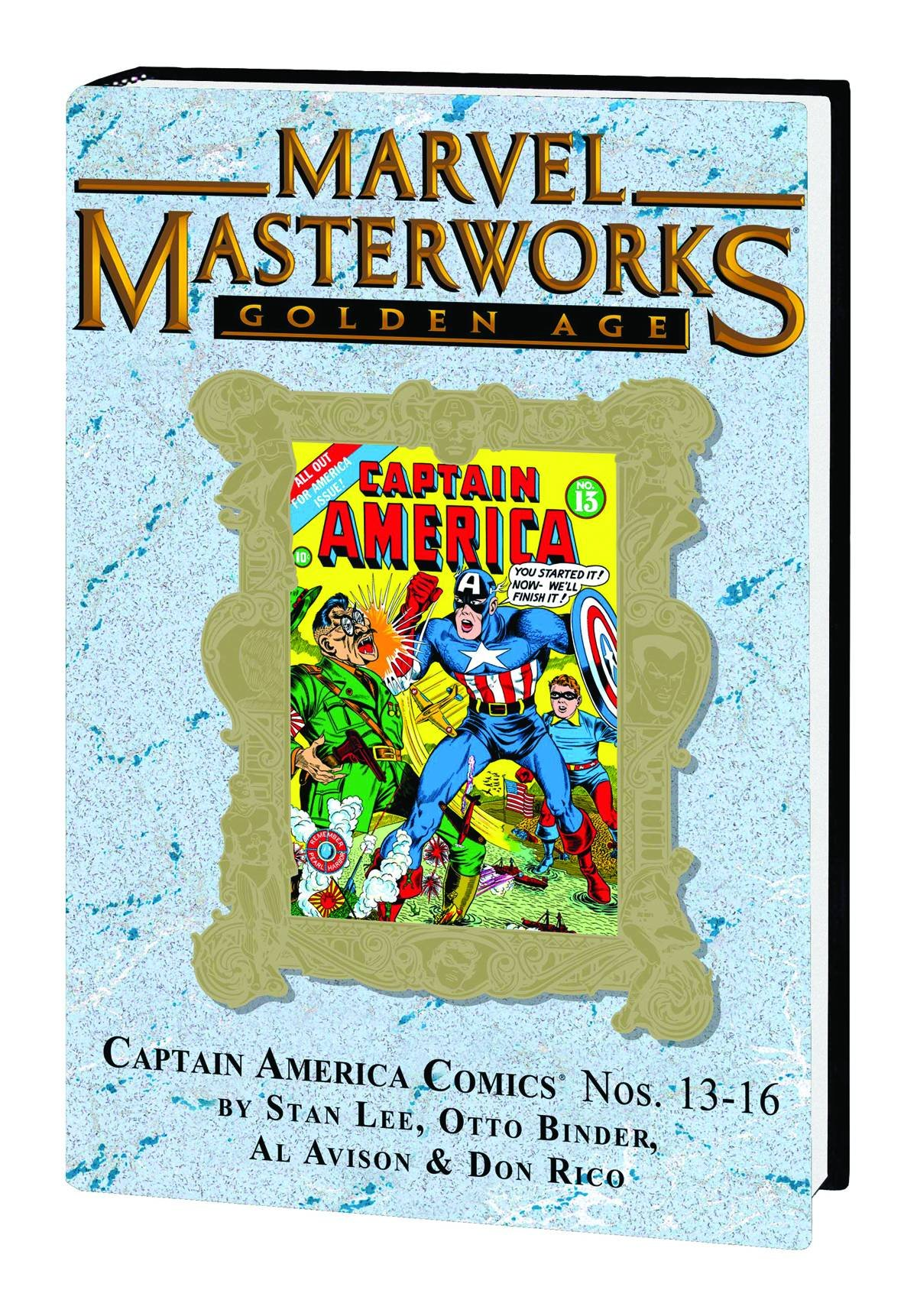 Download Marvel Masterworks Golden Age: Captain America No. 13 - 16 ebook