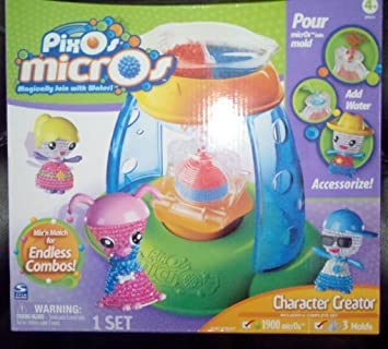 Pixos Microbeads Character Creator