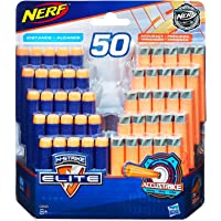 Nerf Elite - 50 Pack of Genuine Darts - 25 Elite & 25 AccuStrike Darts - Compatible with Fortnite Scar AR-L, Supressed Pistol SP-L, Rhinofire & Infinus