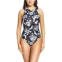 Zoggs Women's Sakura Tie Back Eco Fabric One Piece Swimsuit