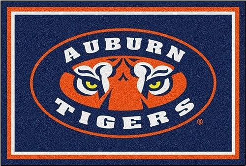 """Fanmats Auburn Tigers NCAA Starterin. Floor Mat 5x8 Rug/59.5""""x88"""""""