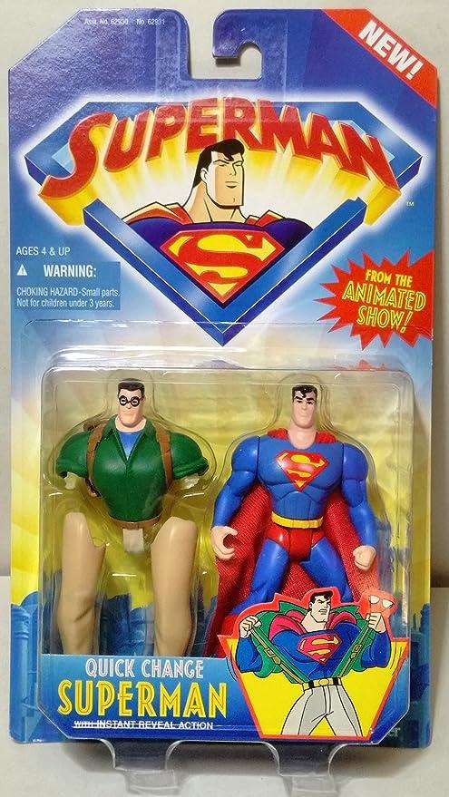 Amazon.com: Superman Animated Series: Quick Change Superman: Toys & Games