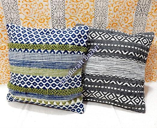 Handicraft Bazarr 2 Cojines de Lana para sofá: Amazon.es: Hogar