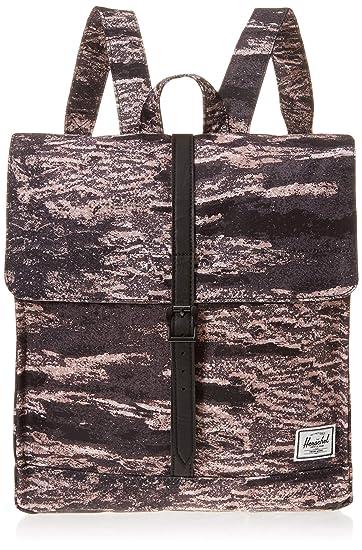 b516bfec7a3 Herschel City Mid-Volume Backpack Ash Rose Desert Black One Size