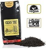 OZAN Schwarzer Tee Ceylon (Sri Lanka) 250g- Lose Blätter, Zufriedenheitsgarantie, Ohne Aroma, OPA, Malzig und Ergiebig (185 Tassen) Schwarztee mit Qualitätssiegel zum Frühstück Vor- oder Nachmittag