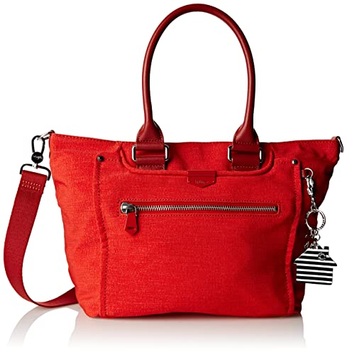 2e0487766556 Kipling Womens Life Saver Small Tote New Red L  Amazon.co.uk  Shoes ...