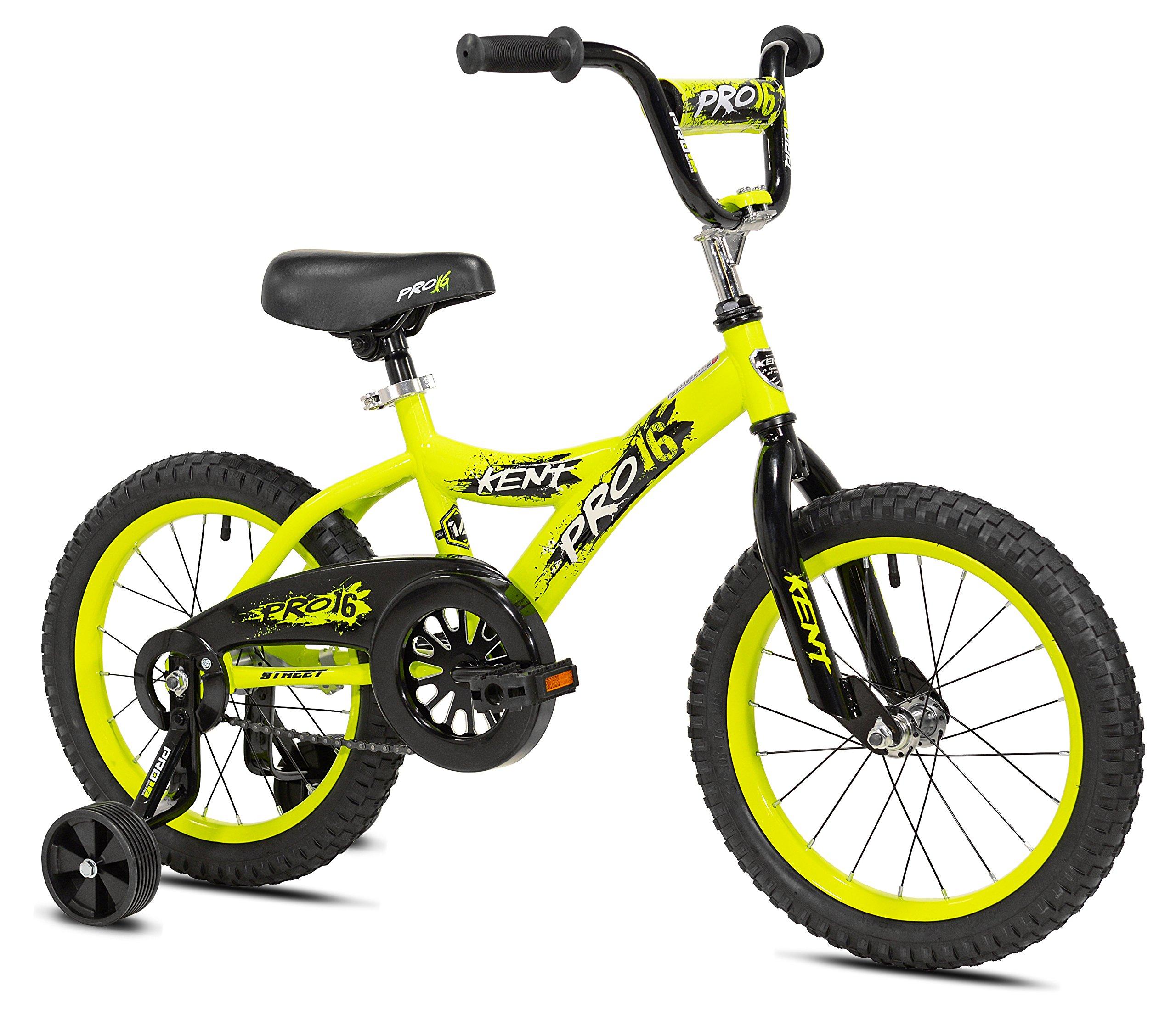 Kent Boys Pro Bike, 16'', Yellow