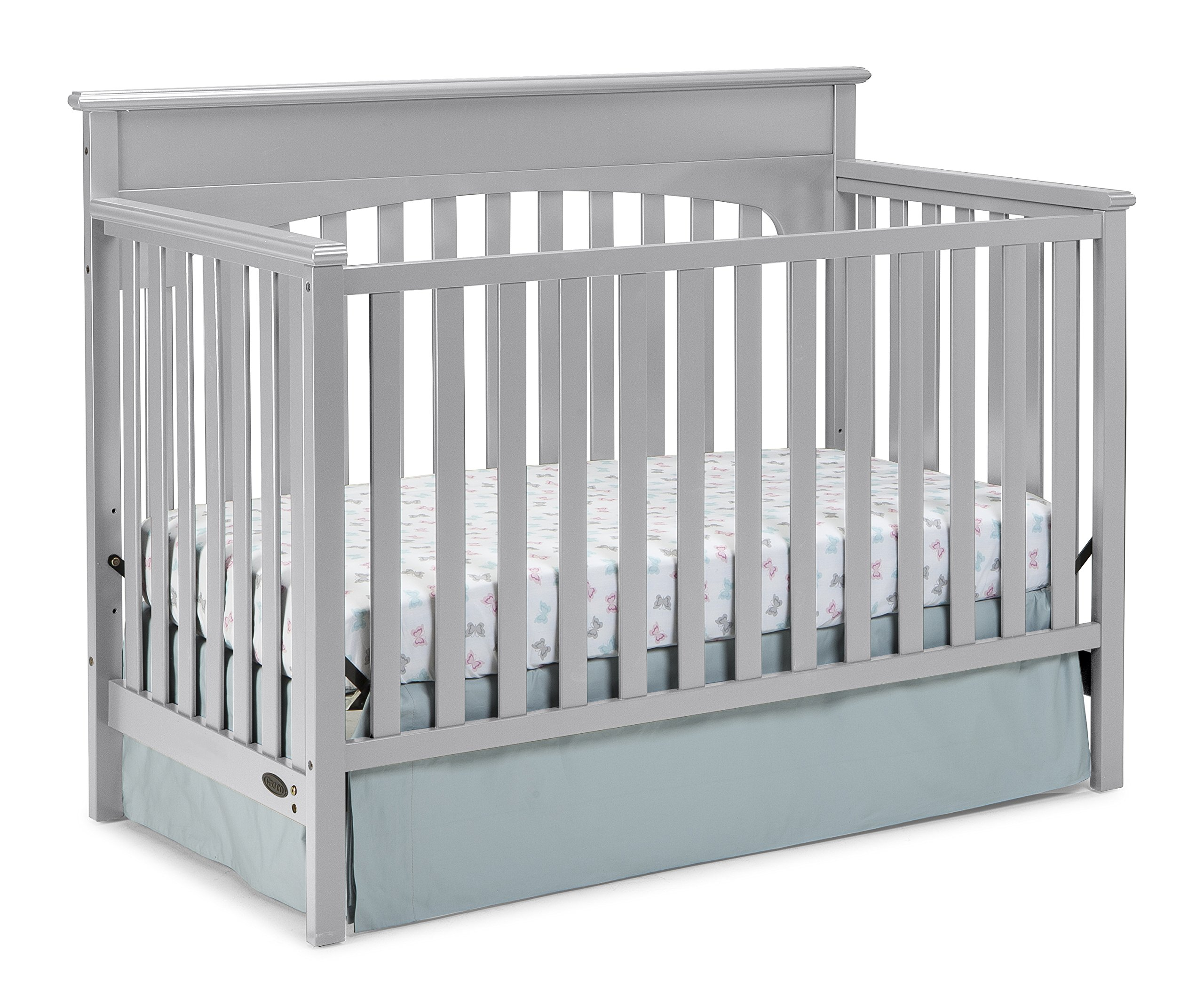 Graco Lauren Convertible Crib, Pebble Gray