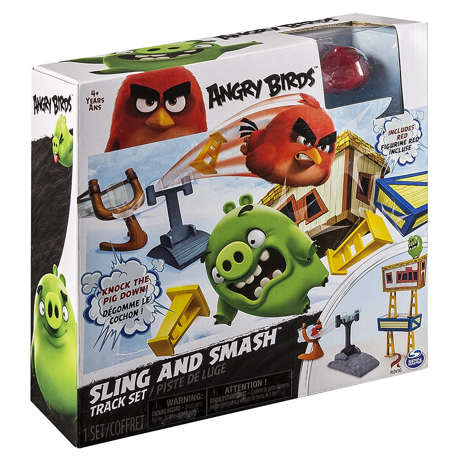 Angry Birds Sling and Smash Track Set Spin Master 20072925-6028427