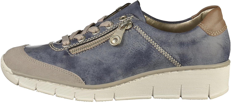 e5d69afa9ce7 Rieker 53721 Damen Sneakers  Amazon.de  Schuhe   Handtaschen