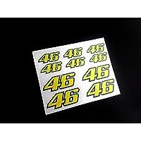 Pegatinas DORSALES 46 Rossi ECO17 Stickers AUFKLEBER ADESIVI