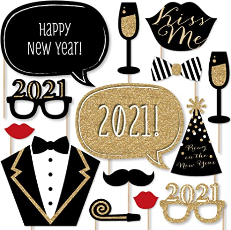 Happy New Year 10 Props