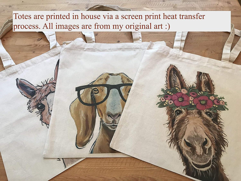 Alpaca Tote Bag, Alpaca with Tassels Tote Bag
