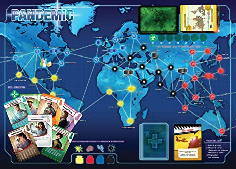 Asmodée Pandemic, zmpa01fr, Juego coopératif: Amazon.es: Juguetes ...