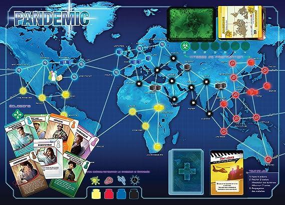 Asmodee Pandémic.: Amazon.es: Juguetes y juegos