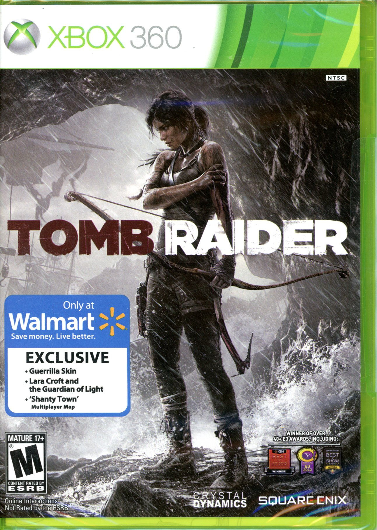 Amazon com: Tomb Raider Walmart Exclusive w/ Bonus: Video Games