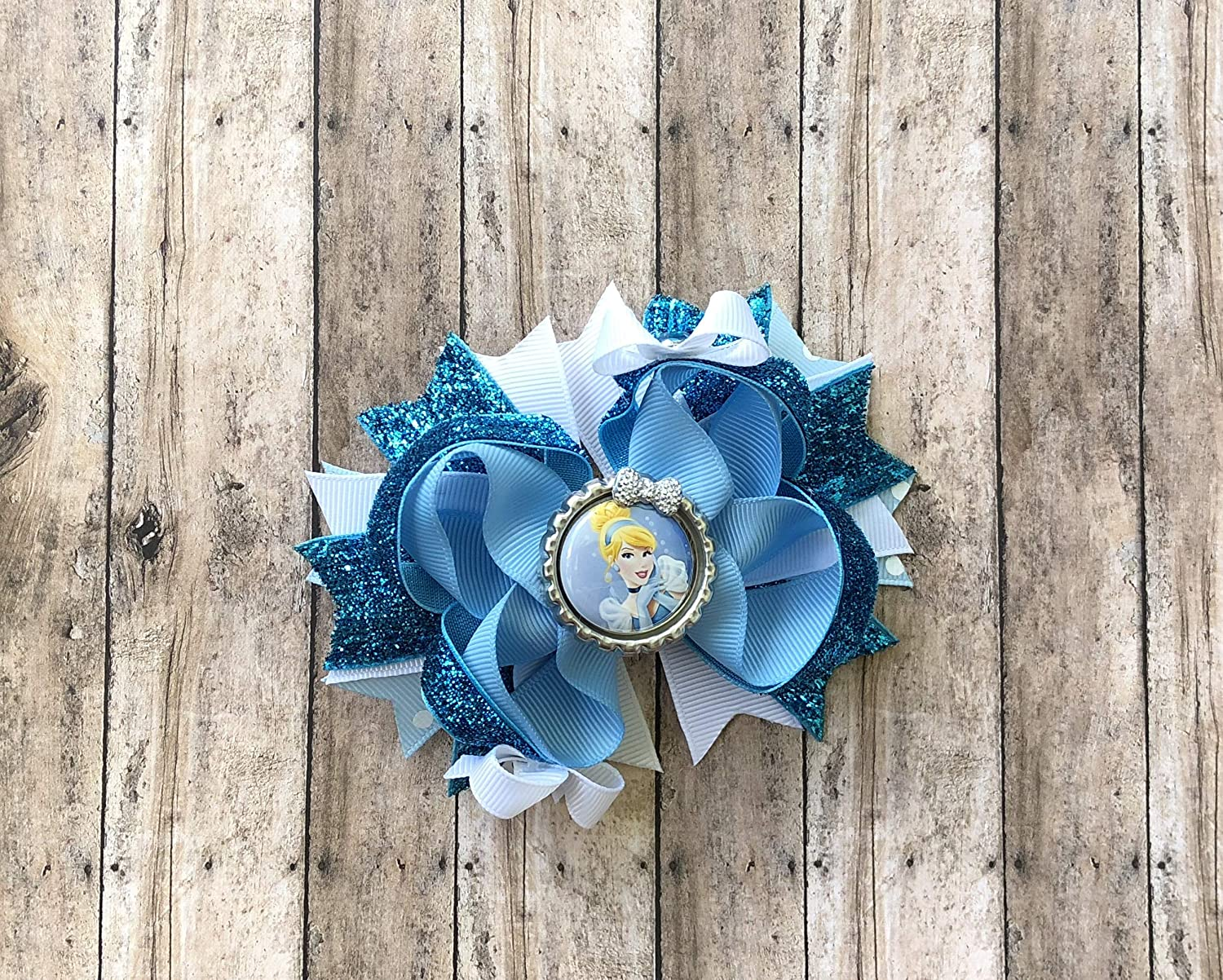 Cinderella Bow - Inspired by Disney Princesses by Inspired Bows
