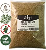 Bulgur Wheat #3 | Easy to Prepare, Delicious to Taste, 100% Whole Wheat Goodness | Good for Nutritious Quick Side Dishes, Pilafs & Soups | Also a Rice Alternative - 2 LBS (No. 3 - Coarse Grain)