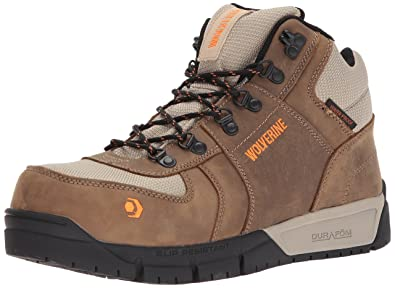 2be4e6507f0 Wolverine Men's Mauler Hiker Composite Toe Waterproof Work Boot ...