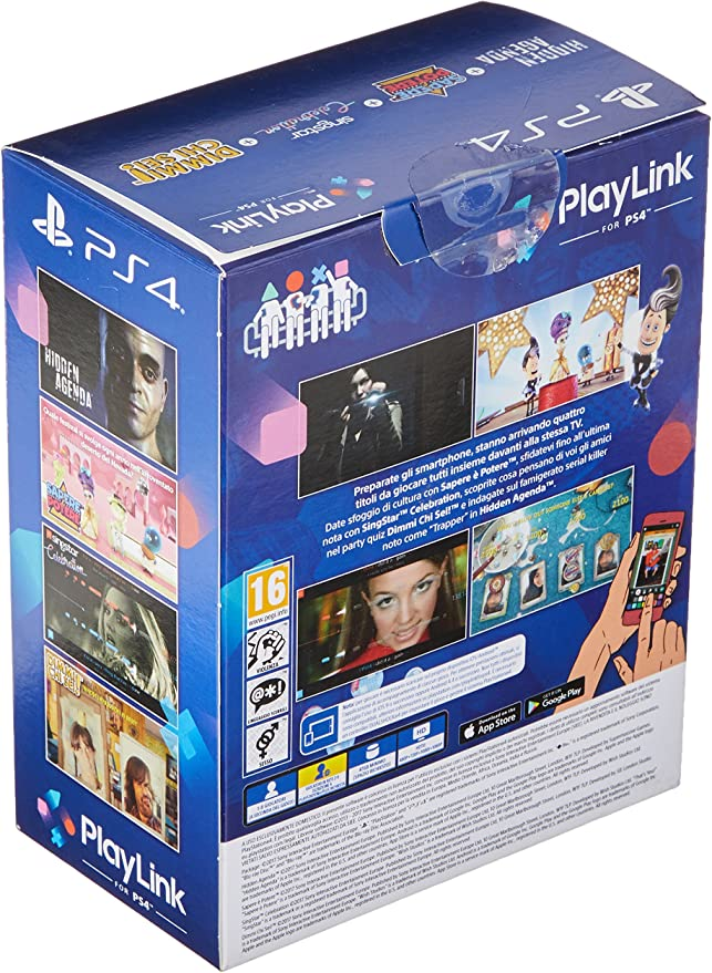 Cofanetto 4 Giochi PlayLink - Bundle -PlayStation 4 [Importación ...