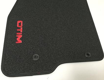 50547311 Original Velours Teppich Fußmatten Mit Roter Aufschrift 2 2 Pins Auto