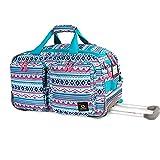 J World New York Duane Wheeled Duffel Bag
