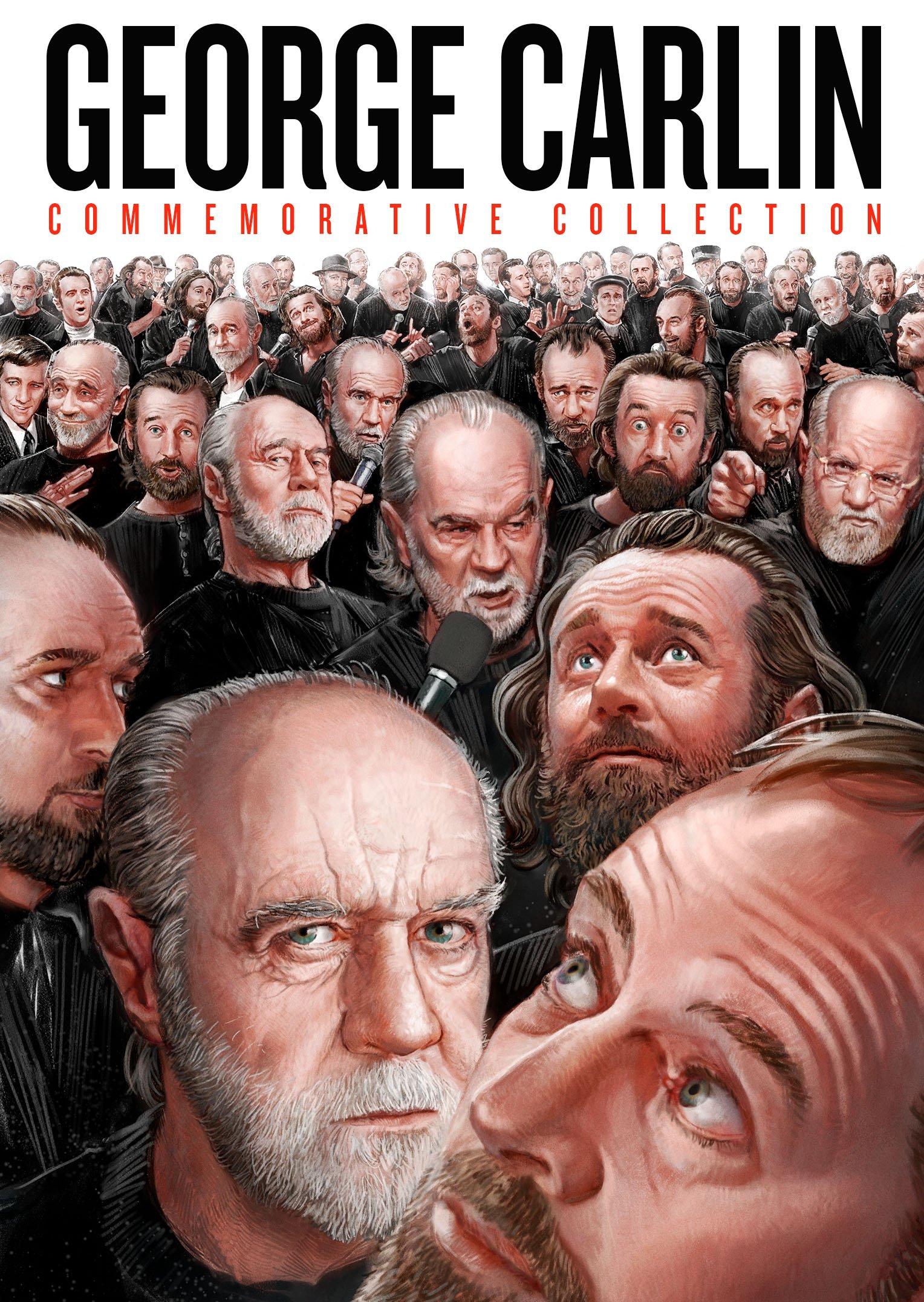 DVD : George Carlin Commemorative Collection (10PC)