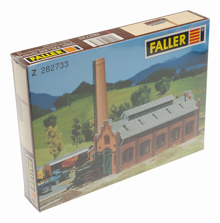 282733 - Faller Z - Lokwerkstatt Modelleisenbahn / Aufbauten Modelleisenbahn / Bahnsteige Hallen und Lokschuppen