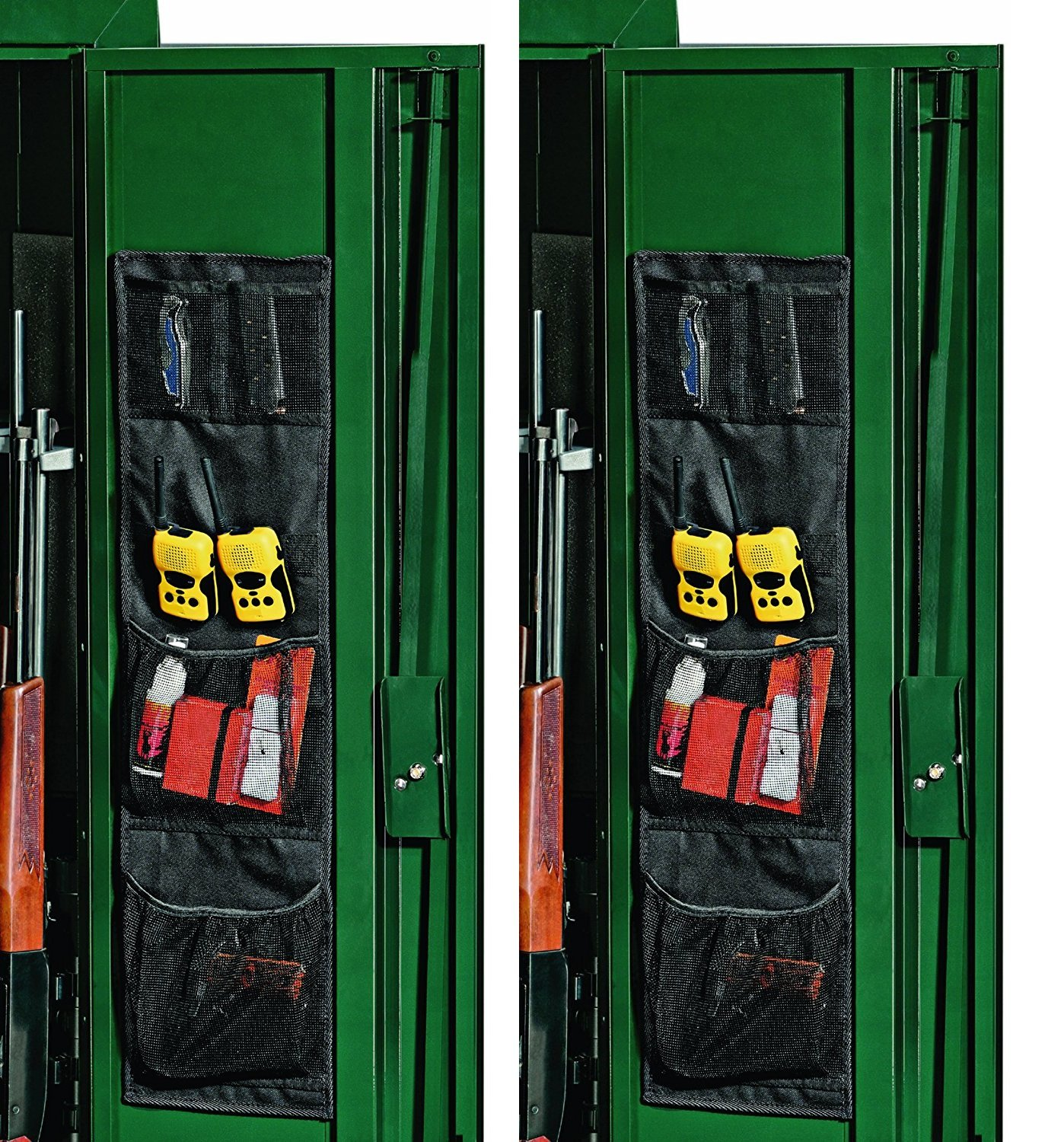 Stack-On SPAO-148 Small Fabric Organizer for Long-Gun Cabinets (Pack of 2)