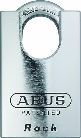 ABUS 83CS/55-300 Schlage Rekeyable Chrome Plated Brass Padlock, Zero Bitted