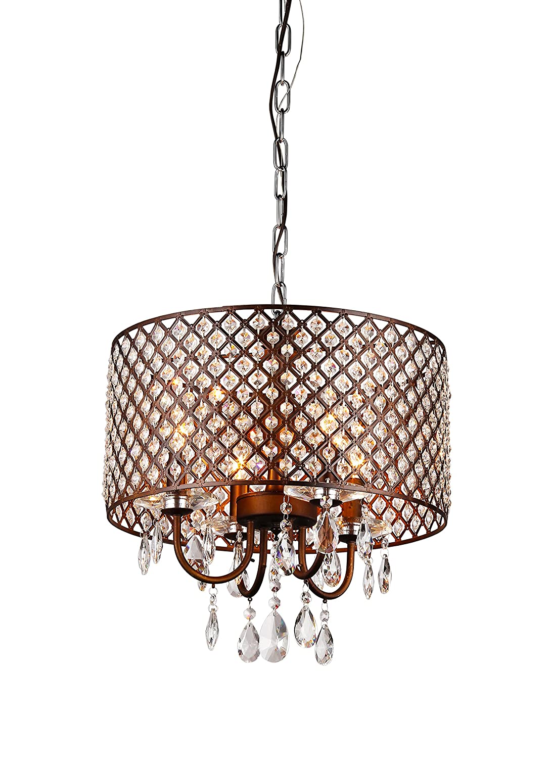 Whse of tiffany rl8064 alexia antique bronze chandelier amazon arubaitofo Images
