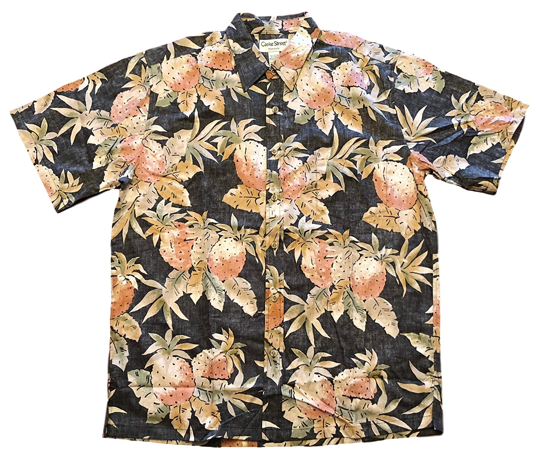 92d4720e Cooke Street Men's Honolulu Classic Hawaiian Shirt at Amazon Men's Clothing  store: