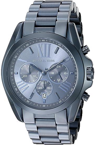 Amazon.com  Michael Kors Women s Quartz Bradshaw Blue Watch MK6248  Michael  Kors  Watches 4ae58c7c72