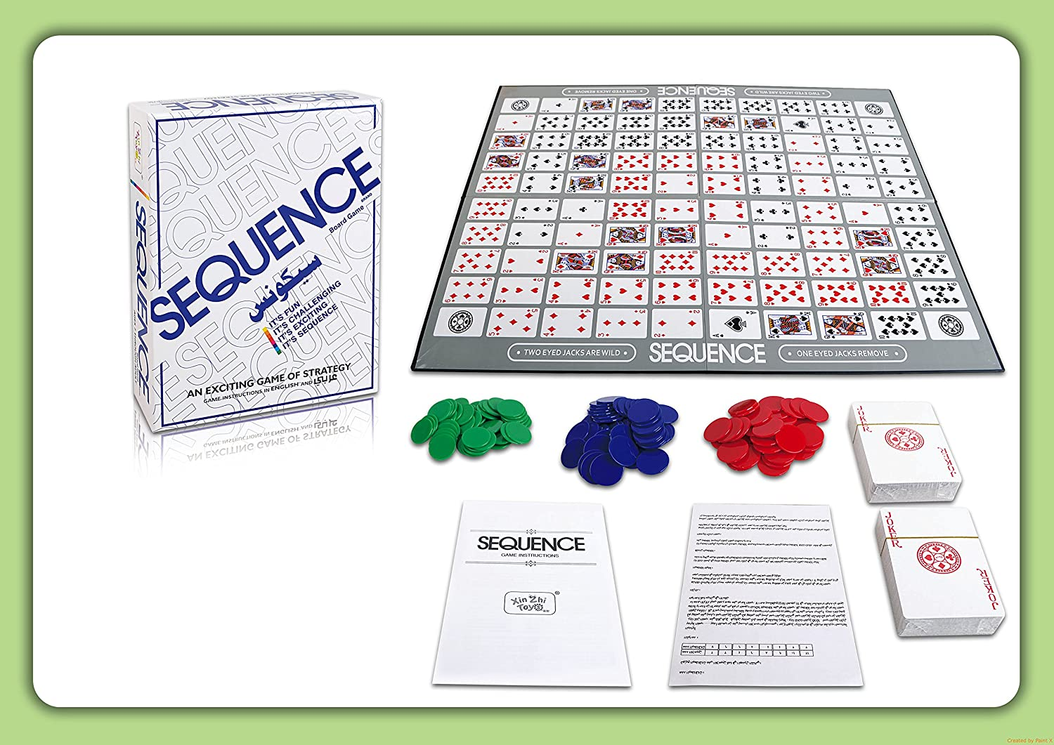 Buy Curtis Toys Sequence Board Game Online At Low Prices In India