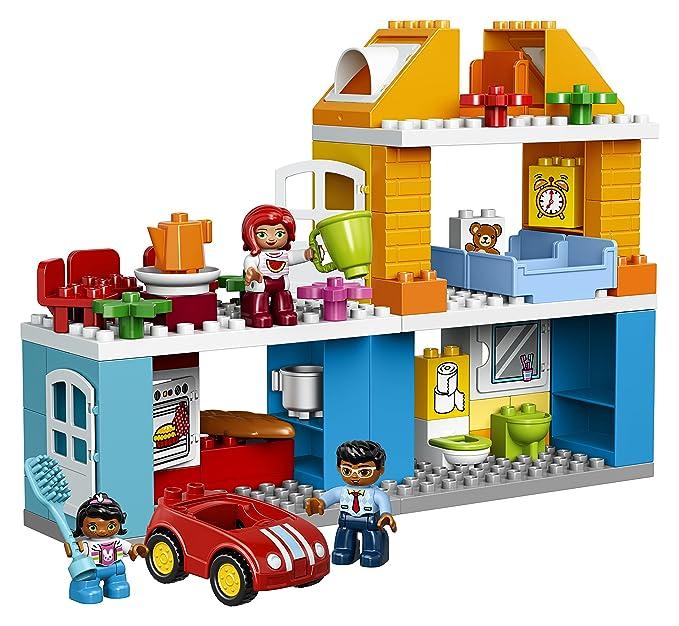 Lego Ville Ma La De Famille 10835 Duplo Maison Jeu Nn0vwm8O