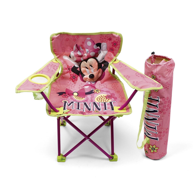 dise/ño Minnie Mouse Arditex WD9449 Silla plegable con brazos y funda
