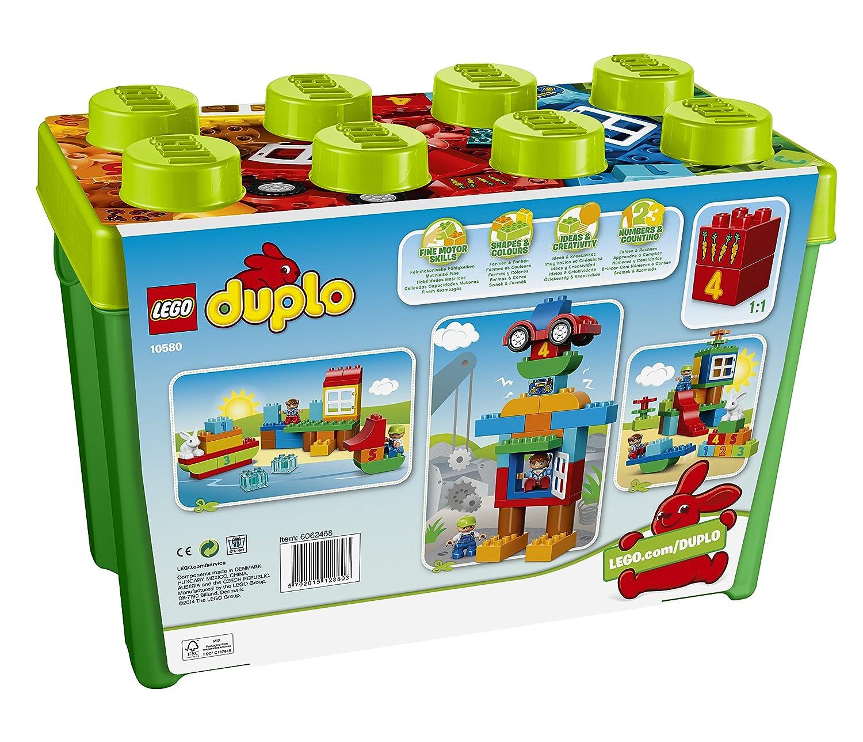 Jeu de Construction DUPLO 10580 Bo/îte Amusante de Luxe Xl LEGO