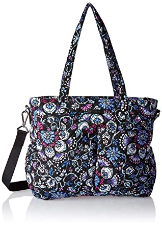 0d59f8e8a735ac Vera Bradley womens Iconic Ultimate Baby Bag, Signature Cotton, Bramble,  One Size