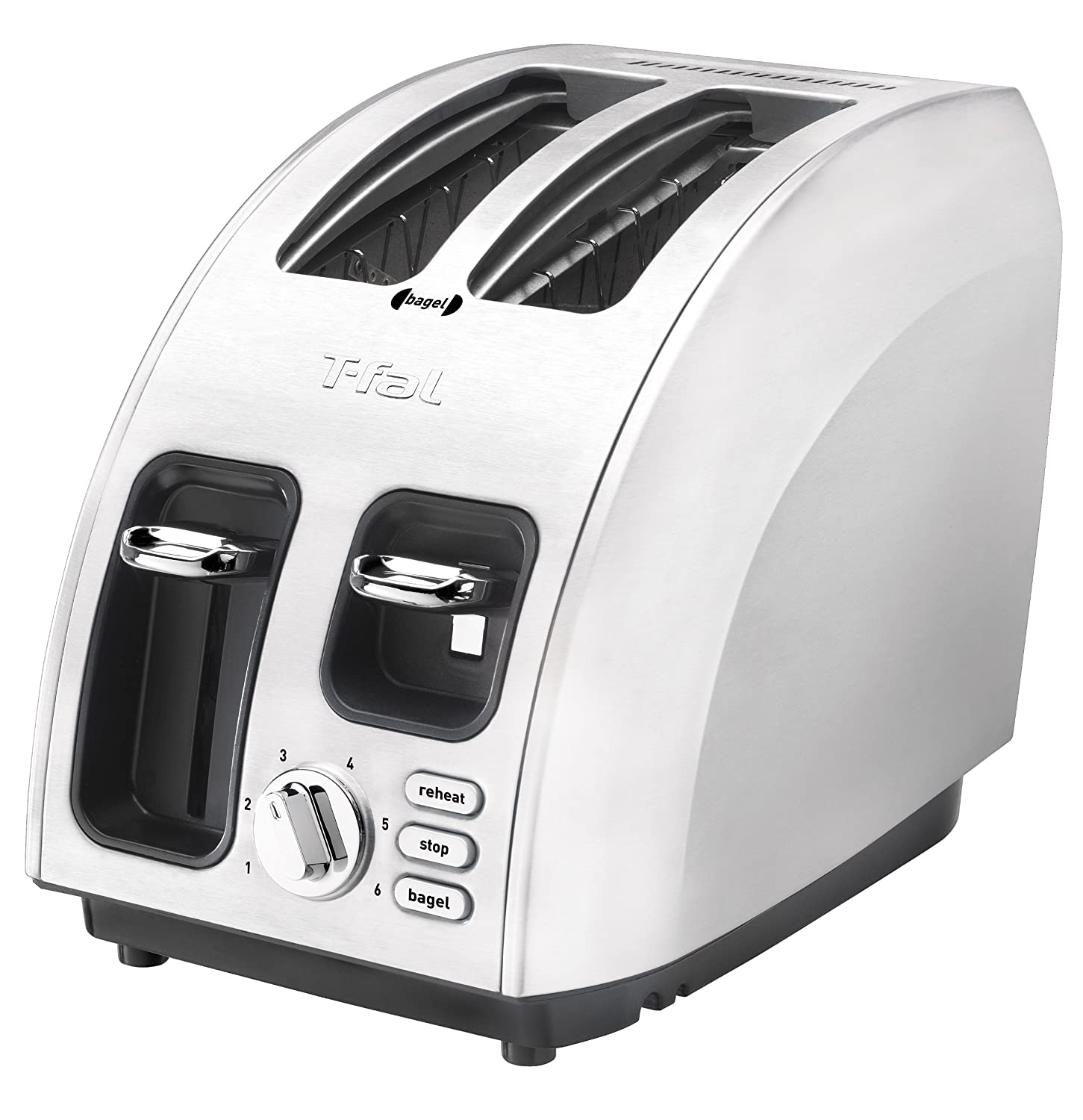 T-fal Avante Icon 2-Slice Toaster (Brushed Stainless Steel body)