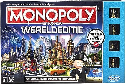 Hasbro b2348568 Monopoly: Mundo Salida, Juego: Amazon.es: Juguetes y juegos