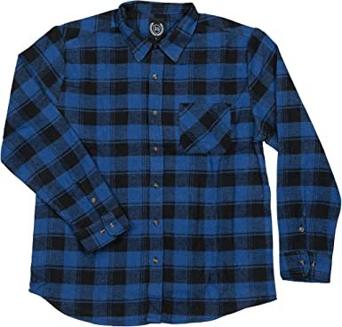 UUYUK Men Casual Business Plaid Slim Button Down Long Sleeve Dress Work Shirt Tops